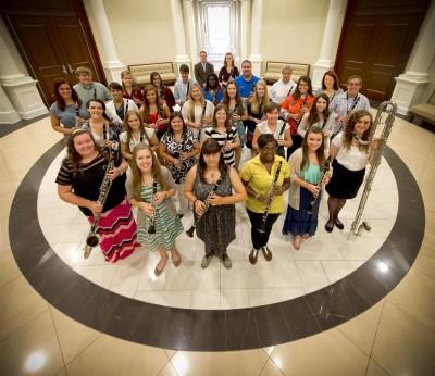 Troy University Clarinet Studio, 2014-2015