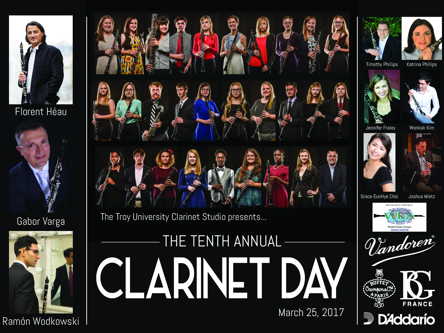 Clarinet Day Poster 17-01